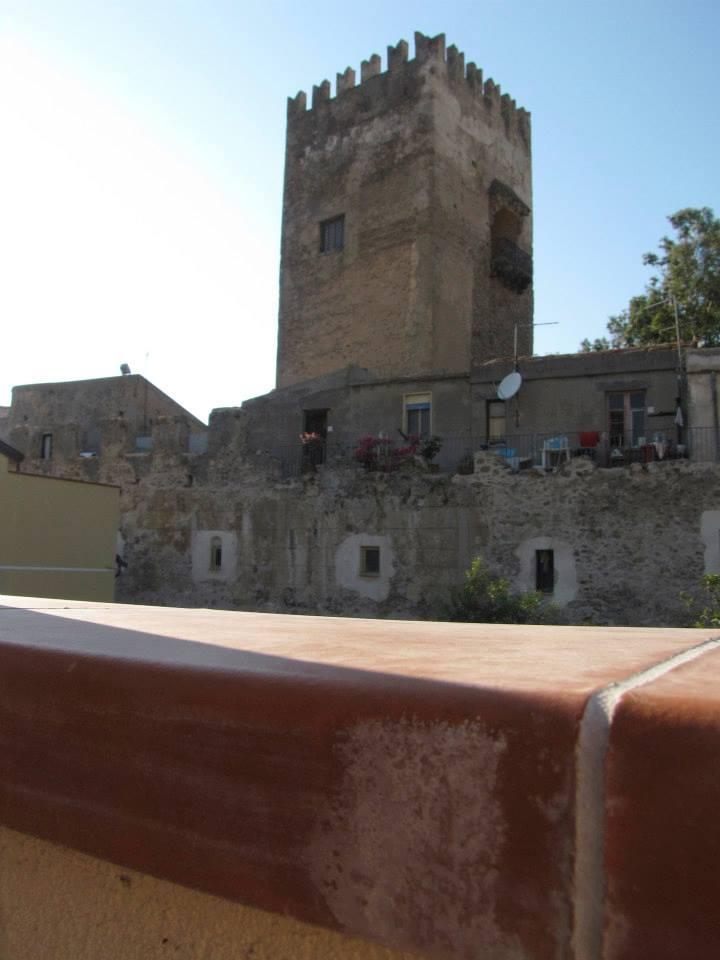 Vista castello dal terrazzo