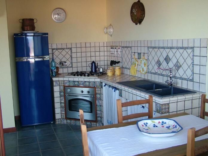 Cucina in muratura - casa vacanze in vendita a Capo d'Orlando CD11VF