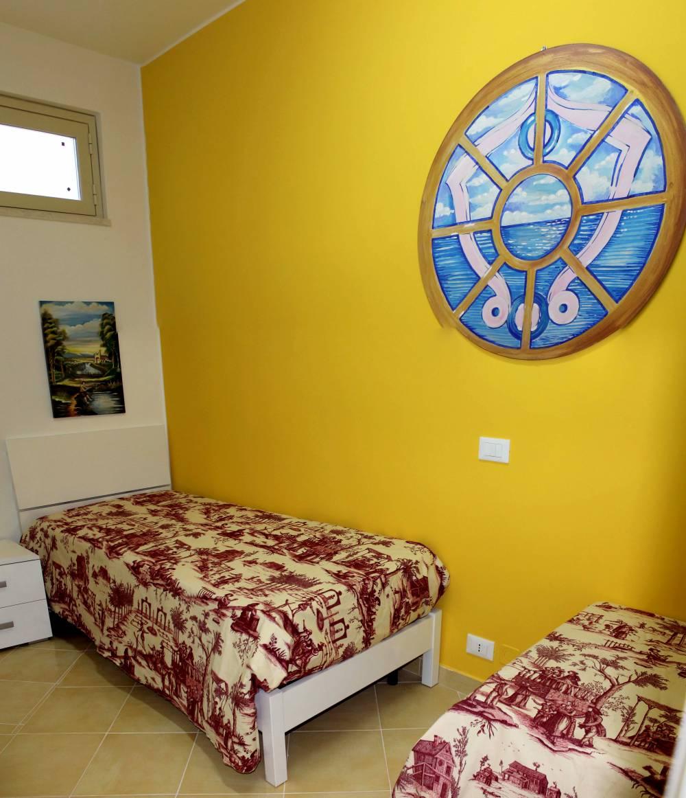 Foto 2 della camera con lettini