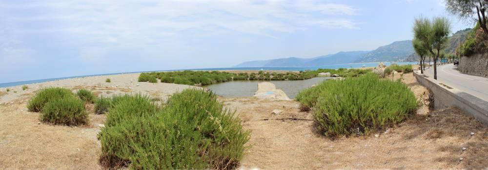 Laghetti all´ingresso della zona di San Gregorio