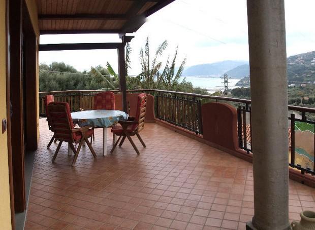 Appartamento per vacanze con spettacolare vista sul mare a Capo d´Orlando. Rif. CD45