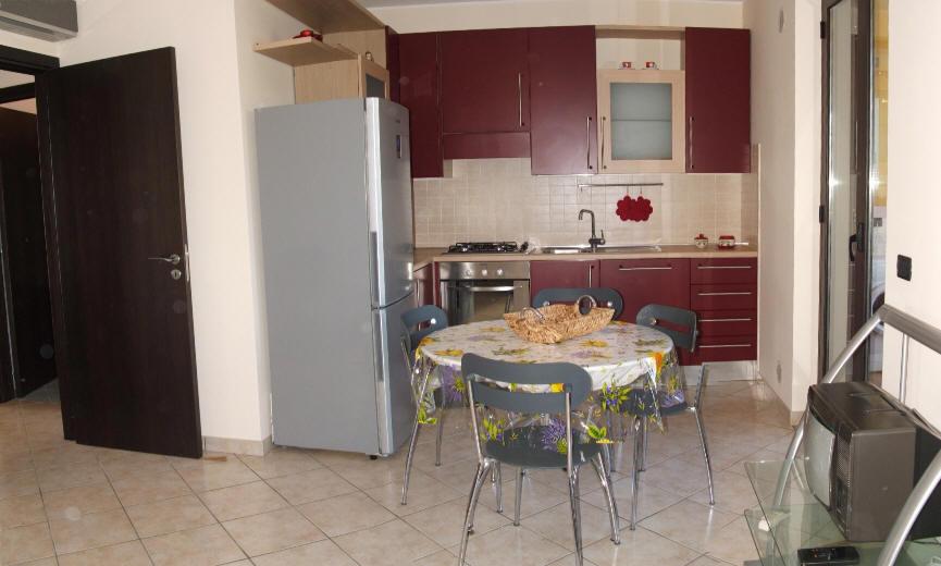 Soggiorno cucina - casa vacanza in vendita a Capo d'Orlando CD09VF