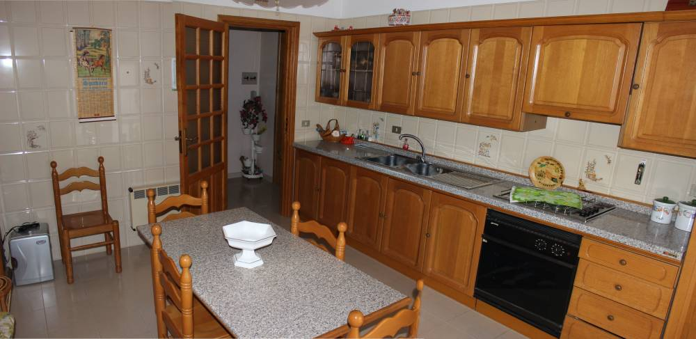 Cucina abitabile abitazione in vendita città di Rocca di Capri Leone - Sicilia