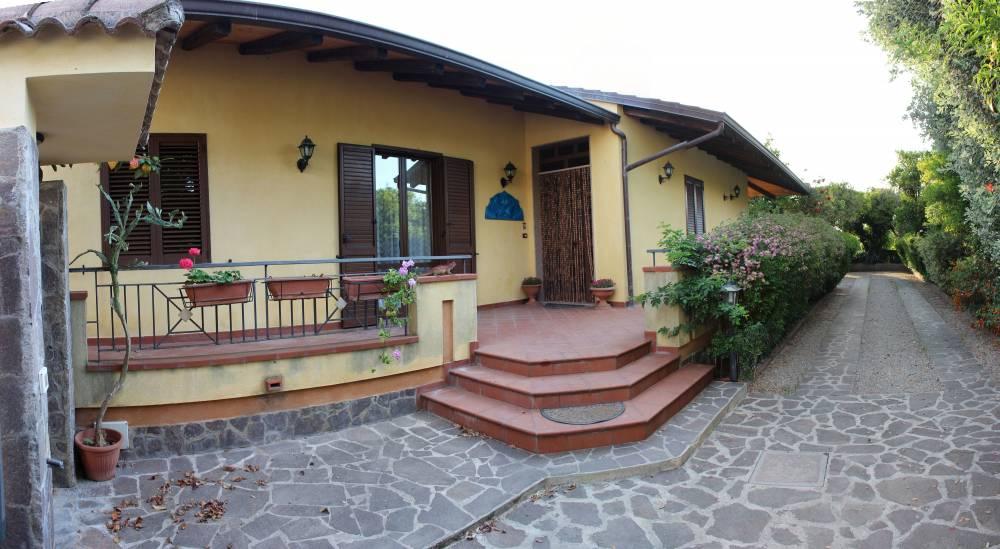 Esterno della villa