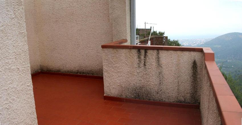 Parte del Terrazzo della casa singola in vendita a Capri Leone (Sicilia)