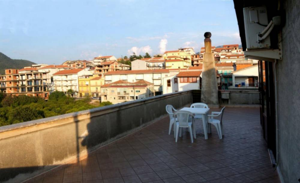 Terrazzo con vista panoramica