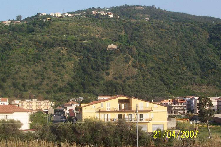 Vista monti dal terrazzo