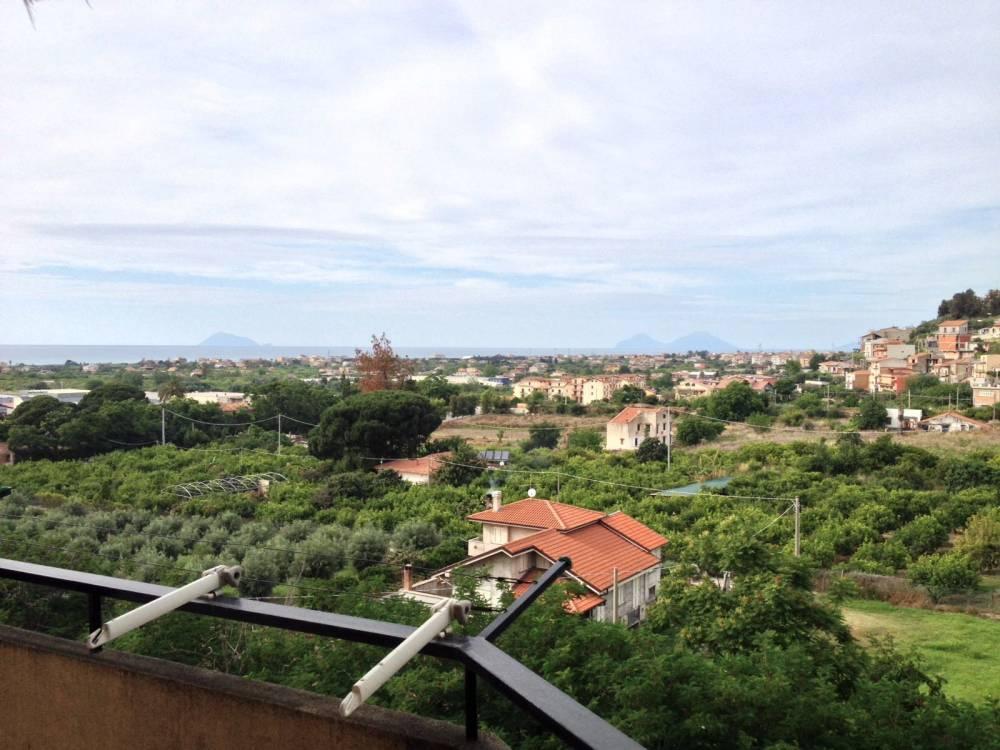 Veduta dal terrazzo dell'abitazione in vendita a Capo d'Orlando - Sicilia
