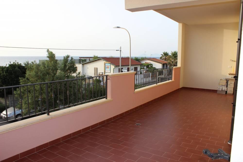 Terrazzo con vista mare - casa vacanza in vendita a Capo d'Orlando CD14VF