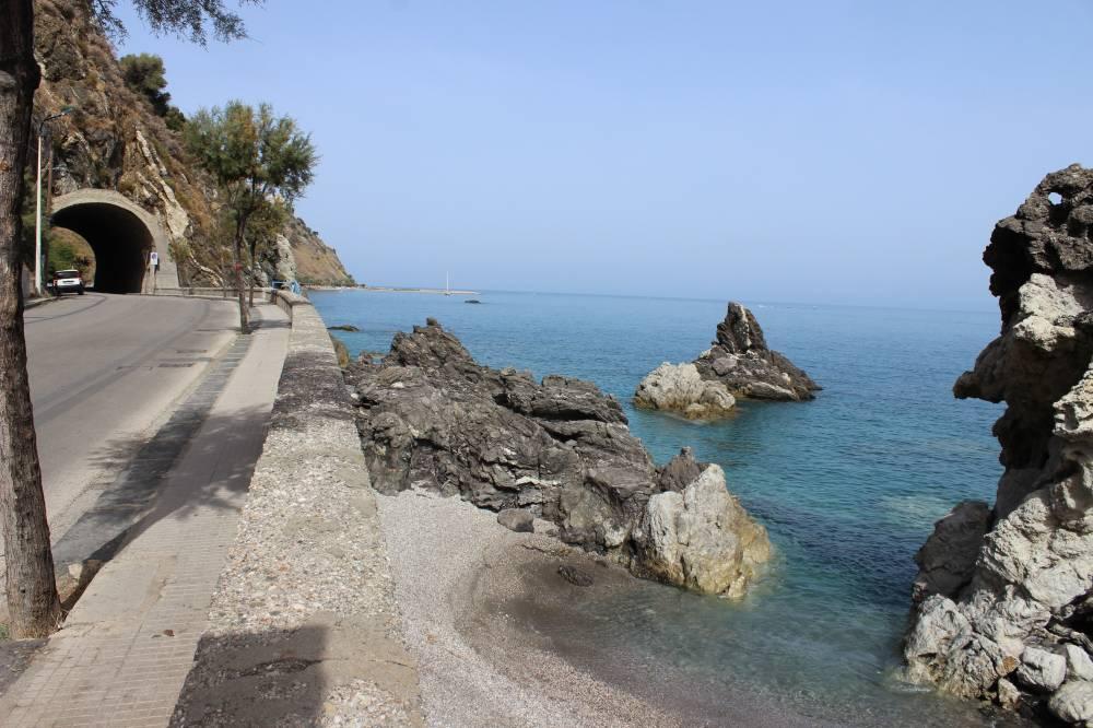 Una delle spiaggette caratteristiche