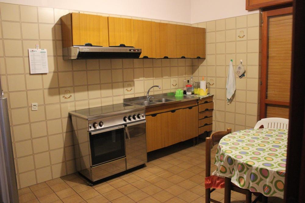 Cucina abitabile della casa in vendita di Rocca di Capri Leone