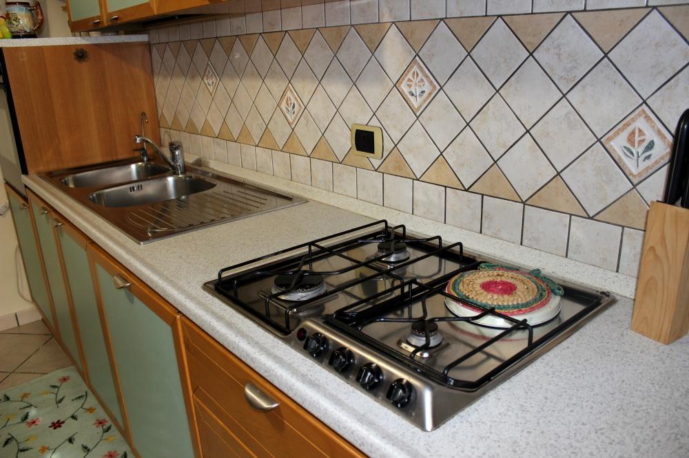Foto 3 dell'angolo cucina - Casa Vacanza RC55 a Rocca di Capri Leone