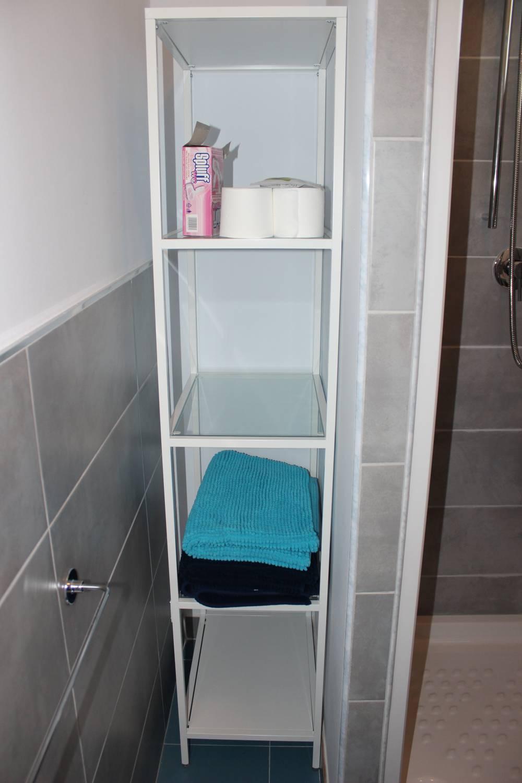 Mobiletto in bagno