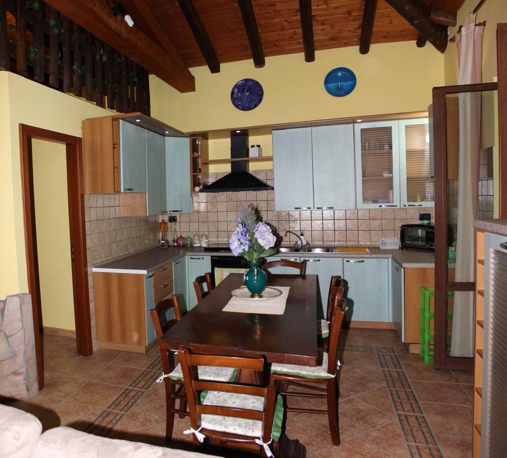Foto n. 1 della cucina soggiorno