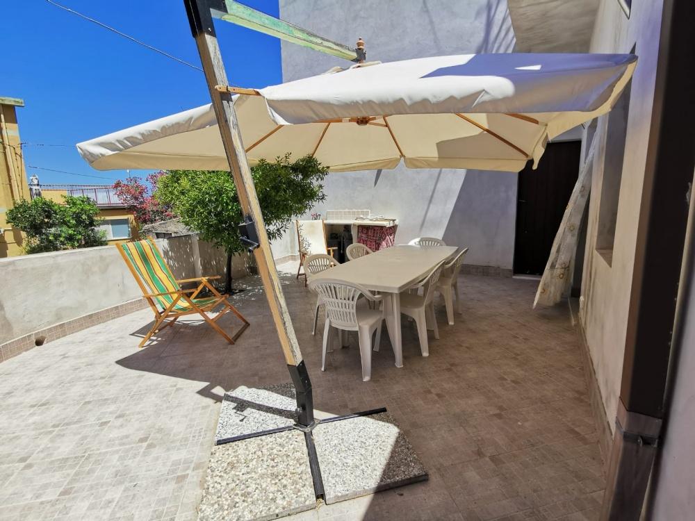 Terrazzo della casa vacanza RC54 Rocca di Capri Leone