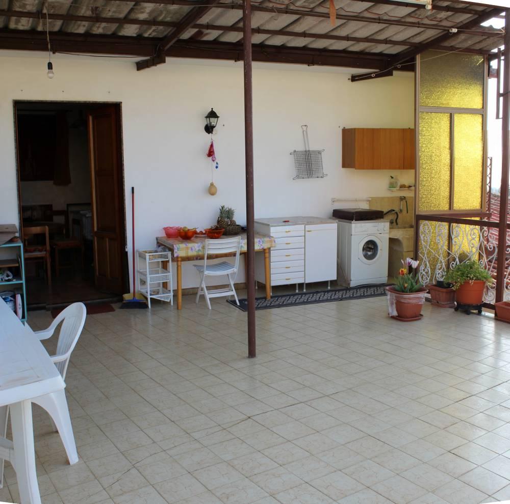 Terrazzo della mansarda - Casa singola in vendita a Capo d'Orlando CD06VF