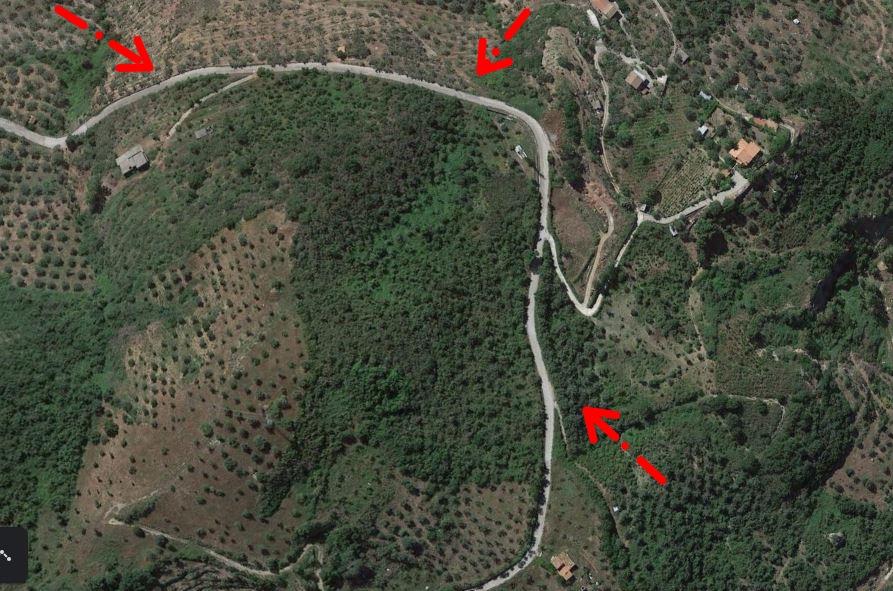 Terreno + rudere a Capri Leone in vendita di circa 3 ettari
