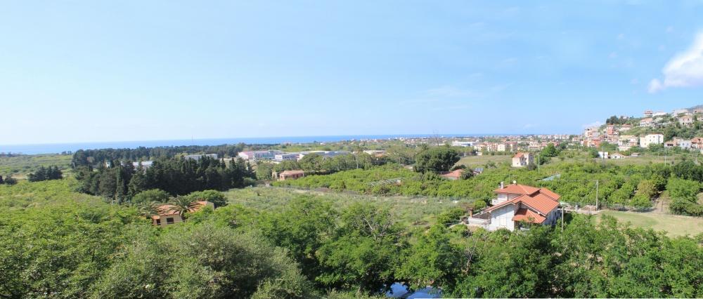Veduta dal terrazzo appartamento in vendita a Capo d'Orlando - Piscittina