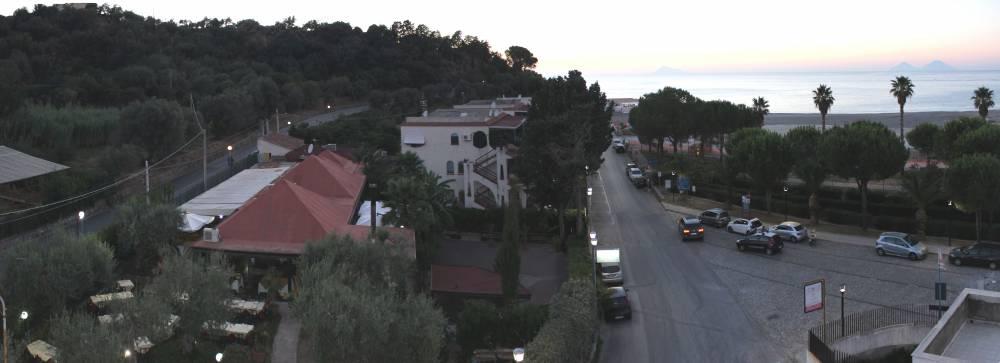 Veduta dal terrazzo