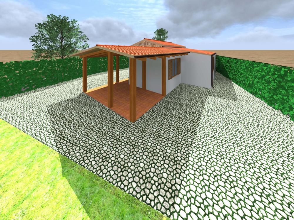 Foto 2 dell'esterno della villa come da progetto - Torrenova (Sicilia)